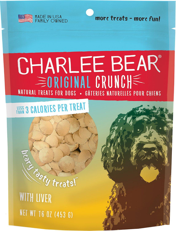 Charlee Bear Liver Flavor Dog Treats, 16-oz