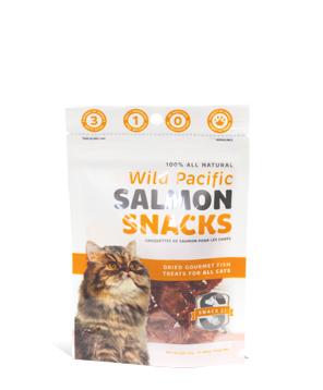 Snack 21 Salmon Snacks for Cats, 0.88-oz