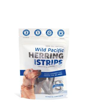 Snack 21 Herring Strips for Dogs, 0.88-oz