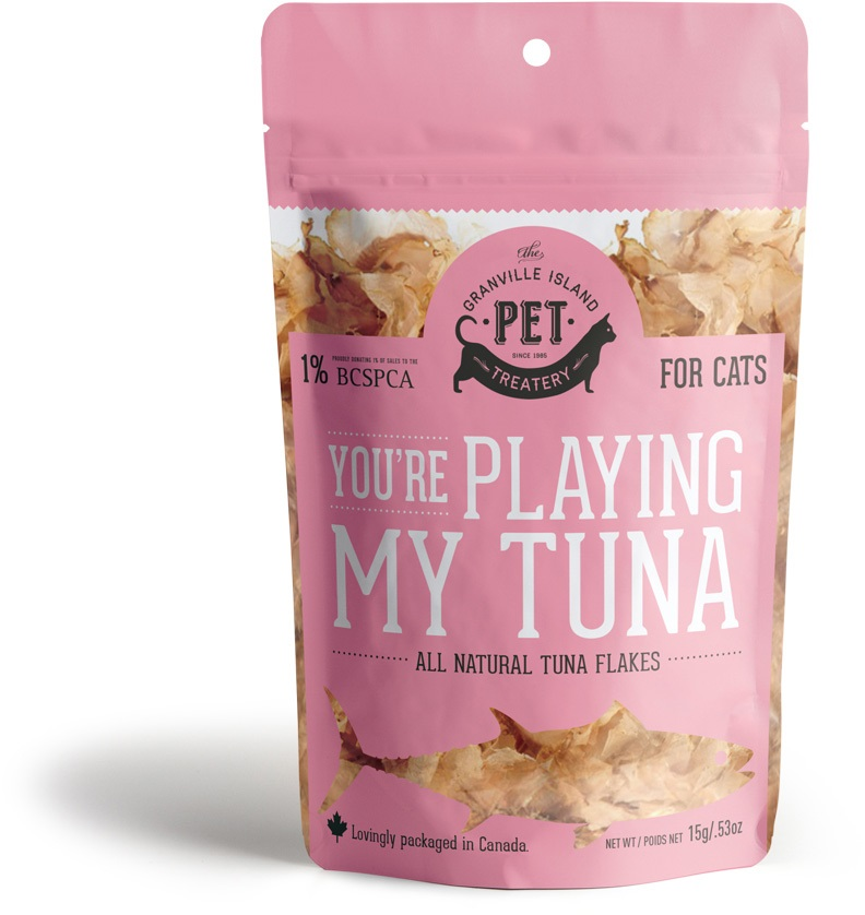 Granville Island Pet You're Playing my Tuna Cat Treats, 1.76-oz