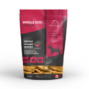 TreatHaus WholeDog Liver Snaps Beef Liver with Berries Dog Treats, 380-gm