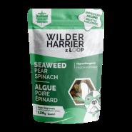 Wilder Harrier Vegan Biscuits Seaweed Pear Spinach Hypo Dog Treats, 120-gm