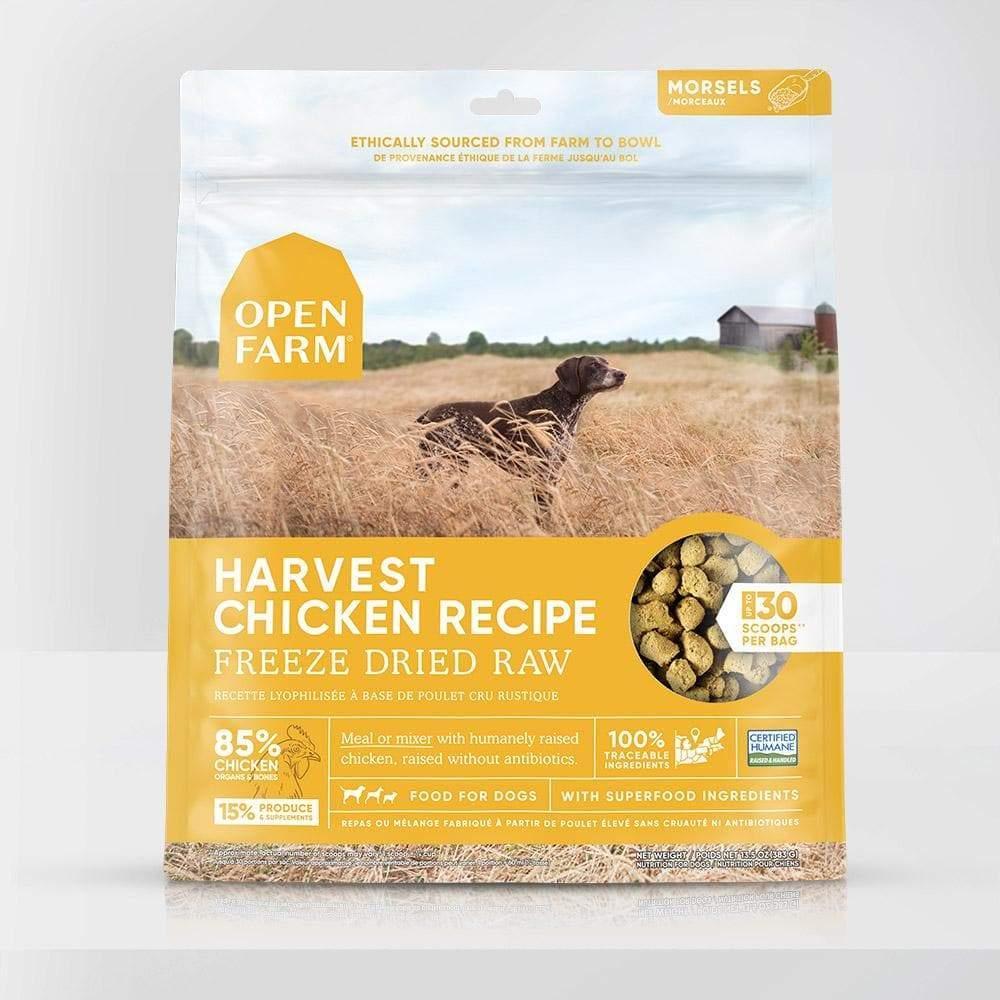 Open Farm Harvest Chicken Recipe Raw Freeze-Dried Dog Food, 13.5-oz