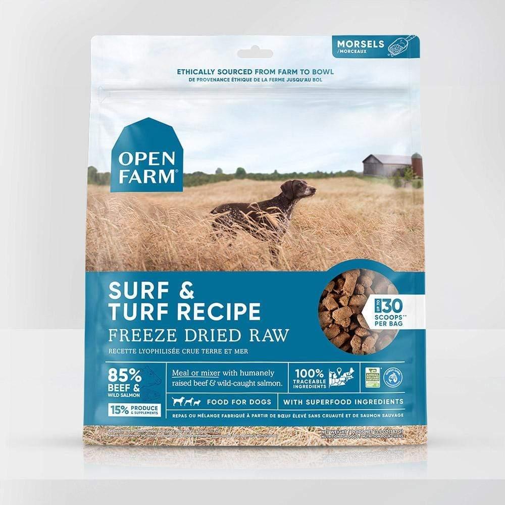 Open Farm Surf & Turf Recipe Raw Freeze-Dried Dog Food, 13.5-oz