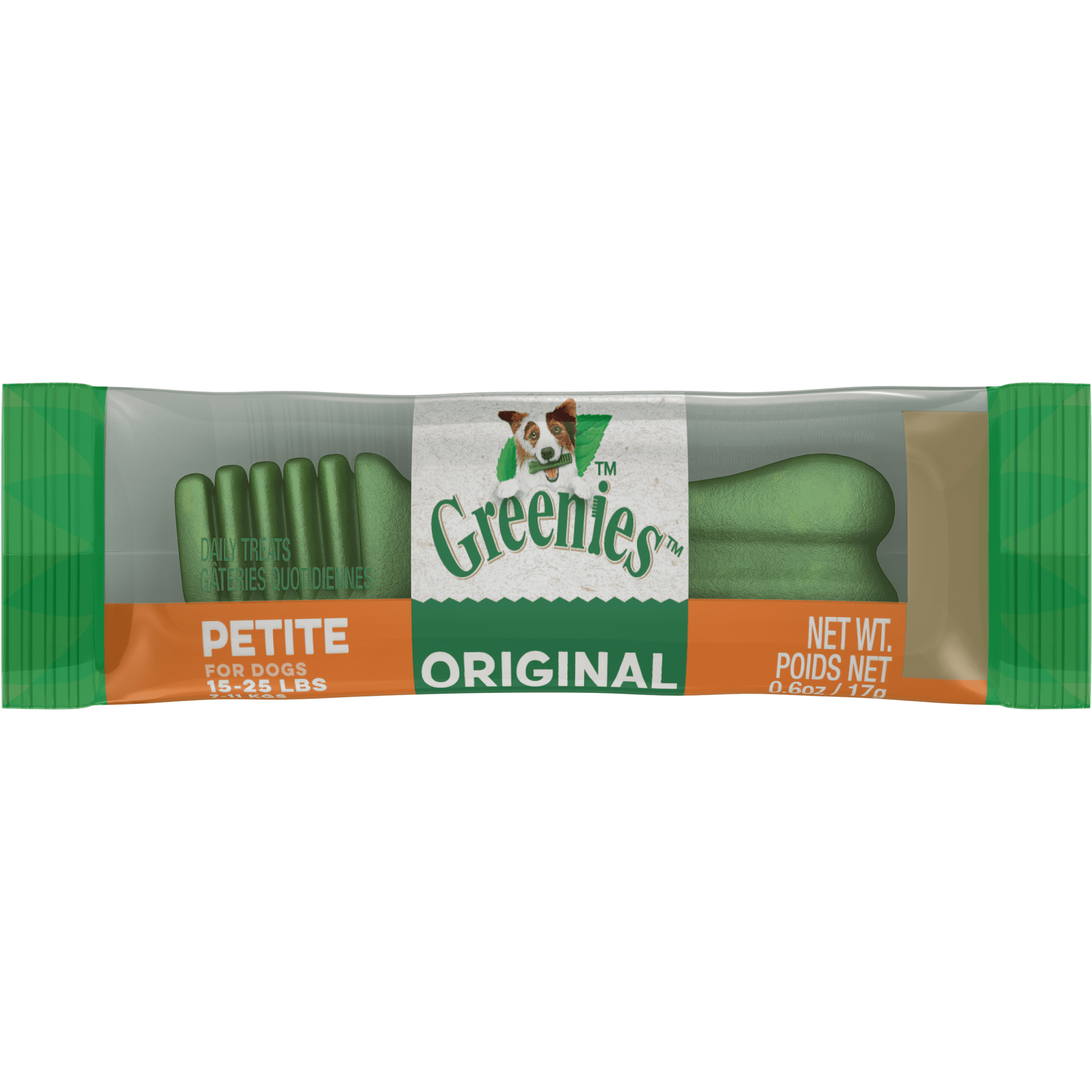 Greenies Original Petite Dental Dog Treats - Individually Wrapped, 1-count (Size: 1-count) Image