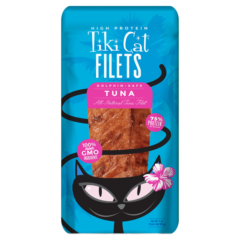 Tiki Cat Filets Tuna Cat Treat, 1-oz