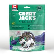 Great Jack's Big Bitz Pork Liver & Kelp Grain-Free Dog Treats Image