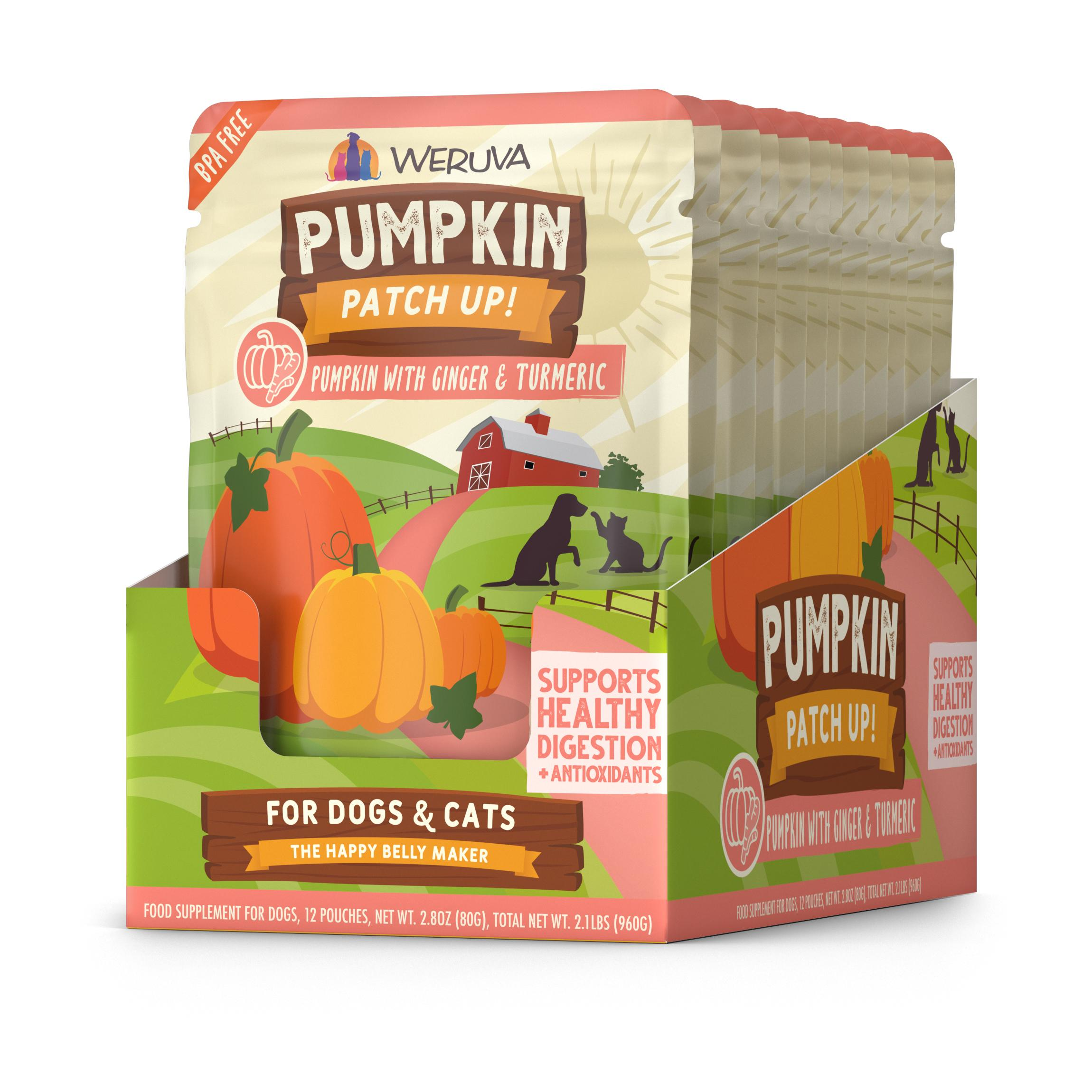 Weruva Grain-Free Pumpkin Patch UP with Ginger & Turmeric Wet Food, 2.80-oz, case of 12