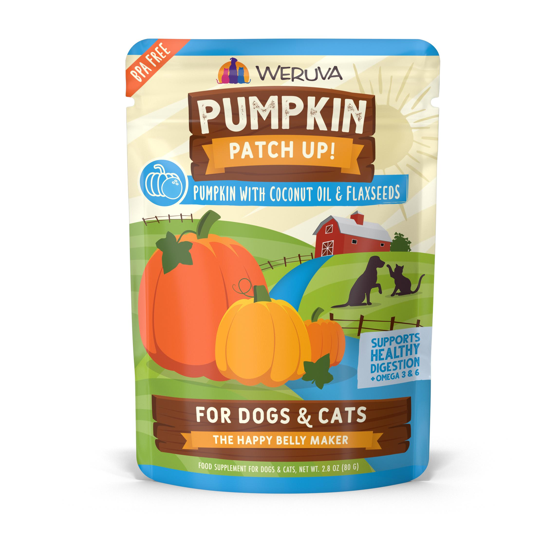 Weruva Grain-Free Pumpkin Patch UP with Coconut Seed & Flax Oil Wet Food, 2.80-oz
