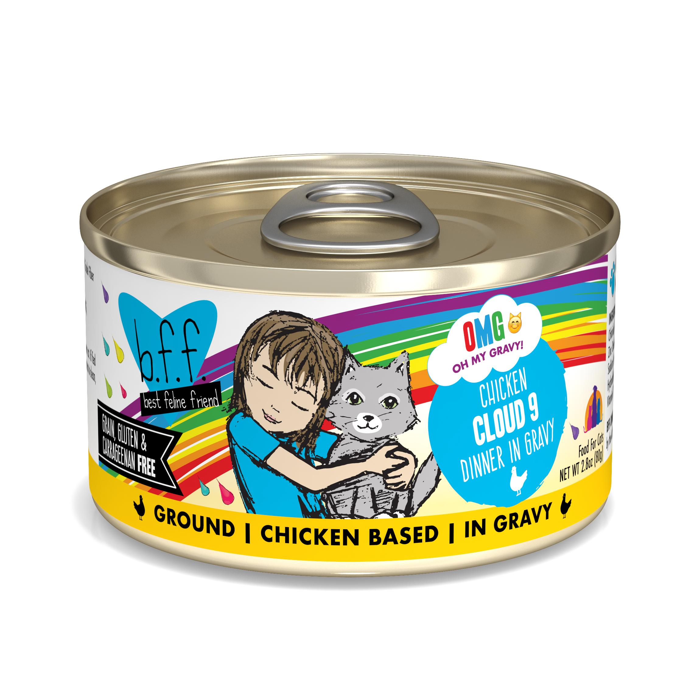 BFF Oh My Gravy! Cloud 9! Chicken Dinner in Gravy Grain-Free Wet Cat Food Image