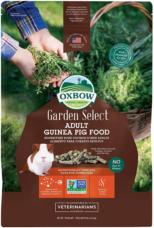 Oxbow Garden Select Adult Guinea Pig Food, 8-lb bag
