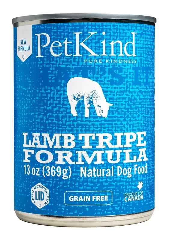 PetKind That's It Lamb Tripe Grain-Free Canned Dog Food, 13-oz|369-g