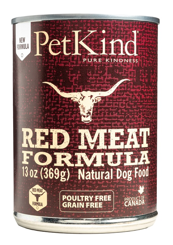 PetKind That's It Red Meat Grain-Free Canned Dog Food, 13-oz|369-g