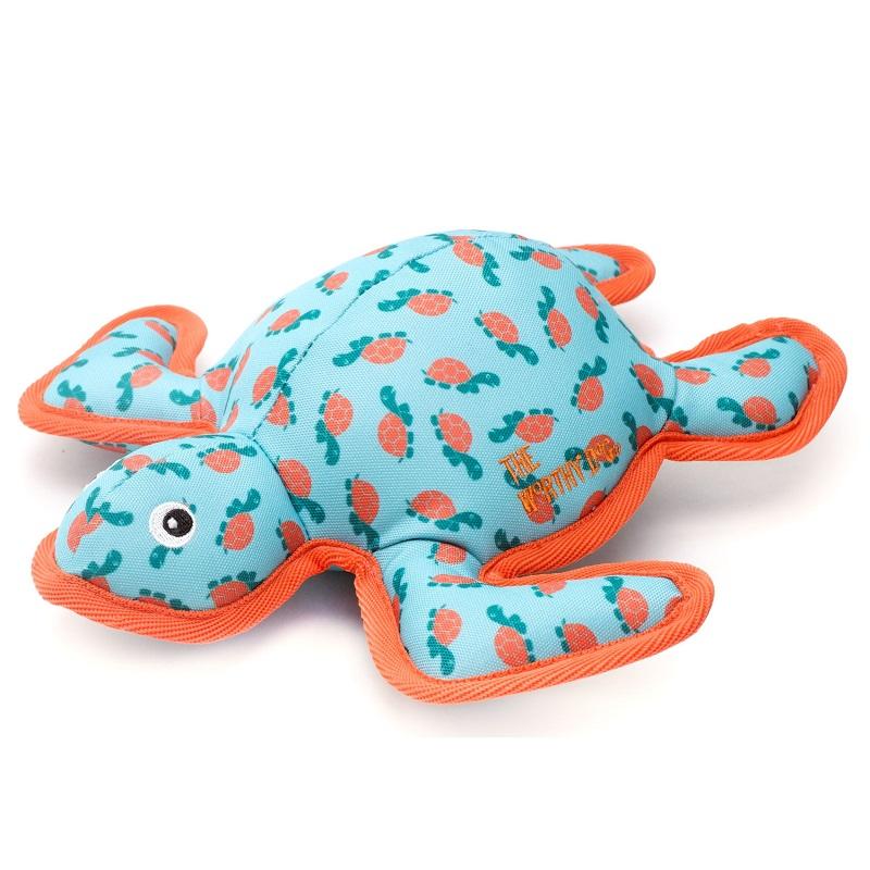 The Worthy Dog Turtle Plush Dog Toy, Small