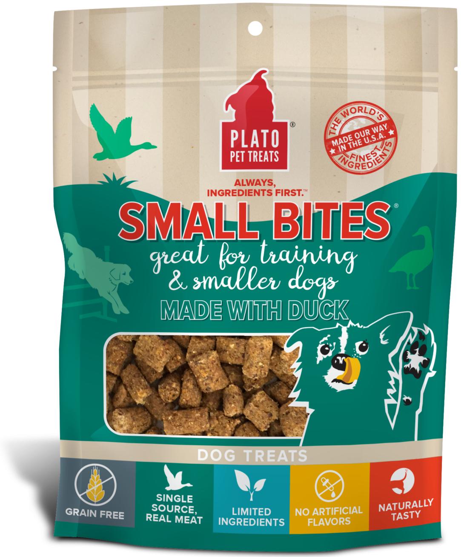 Plato Small Bites Duck Dog Treats Image