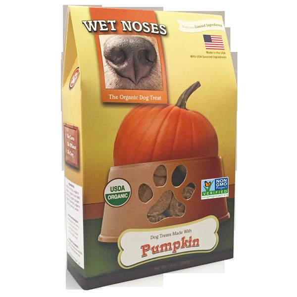 Wet Noses Pumpkin Dog Treats, 14-oz