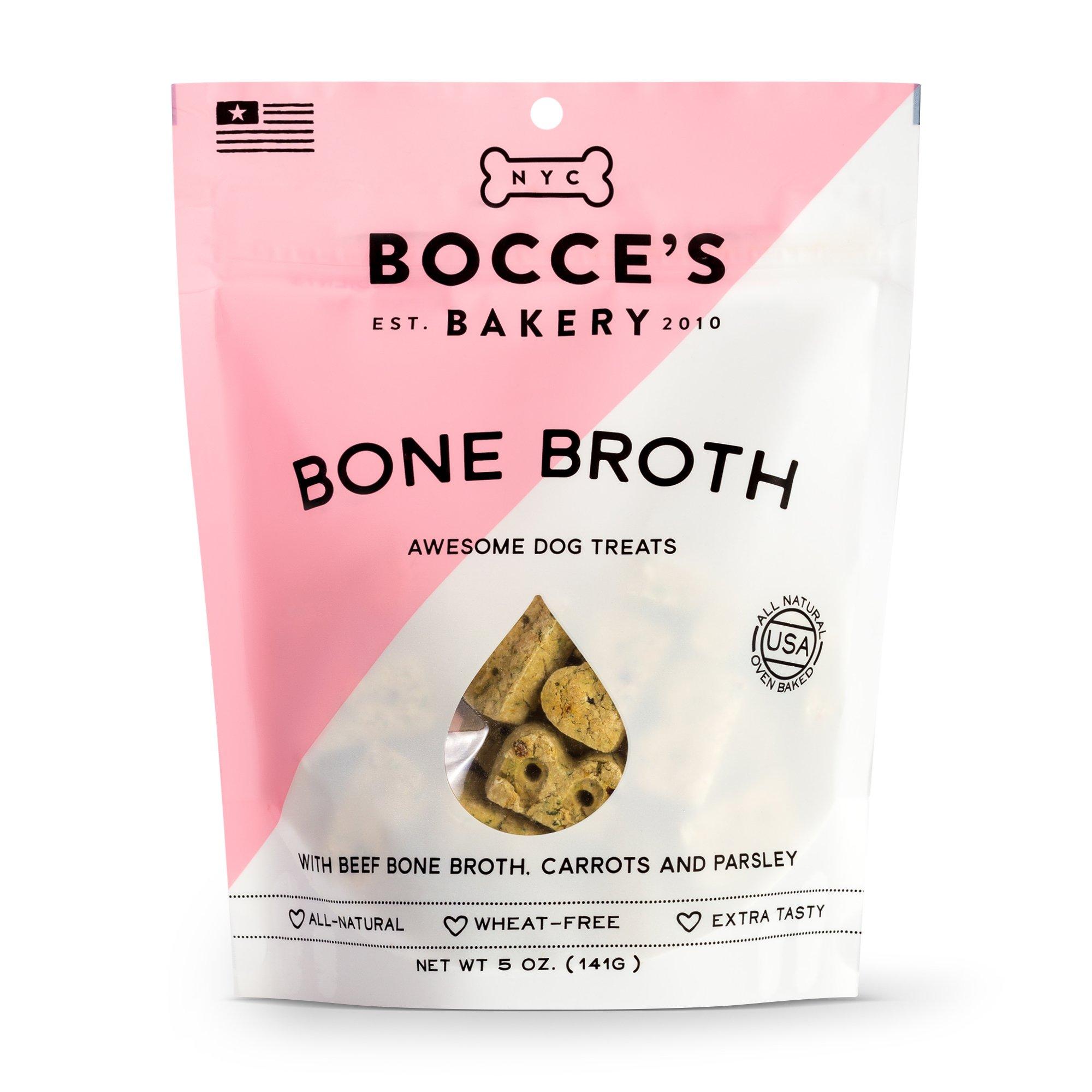 Bocce's Bakery Seasonal Bone Broth Biscuits 5-oz