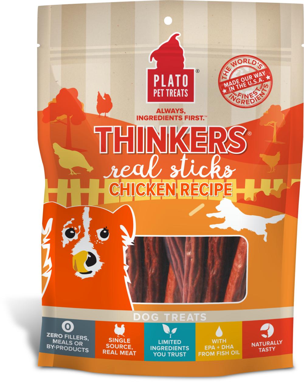Plato Thinkers Chicken Recipe Dog Treats Image