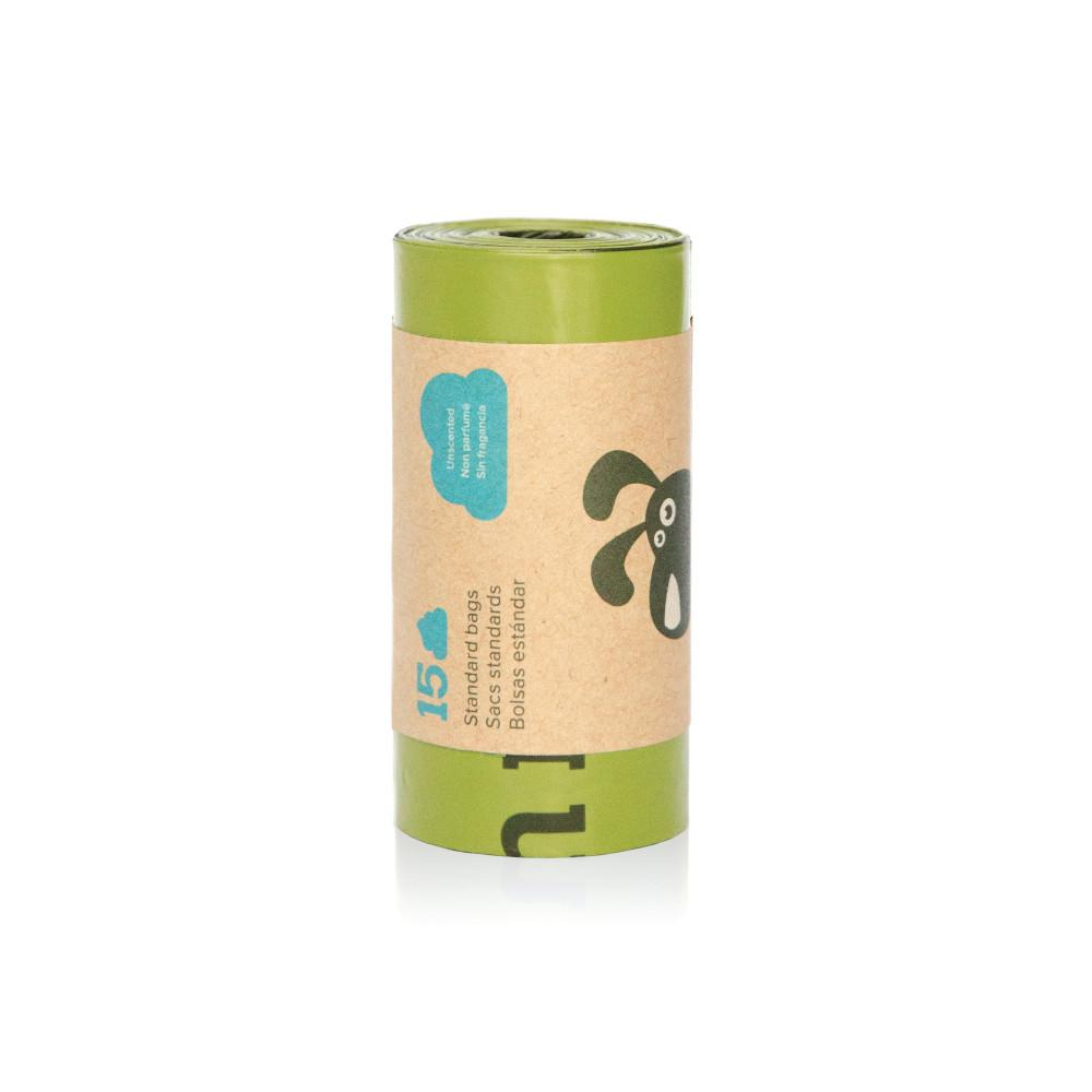 Earth Rated Poop Bag Single Roll, Unscented Image