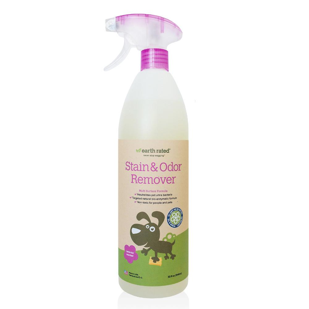 Earth Rated Stain & Odor Remover, Lavender Scented, 32-oz bottle
