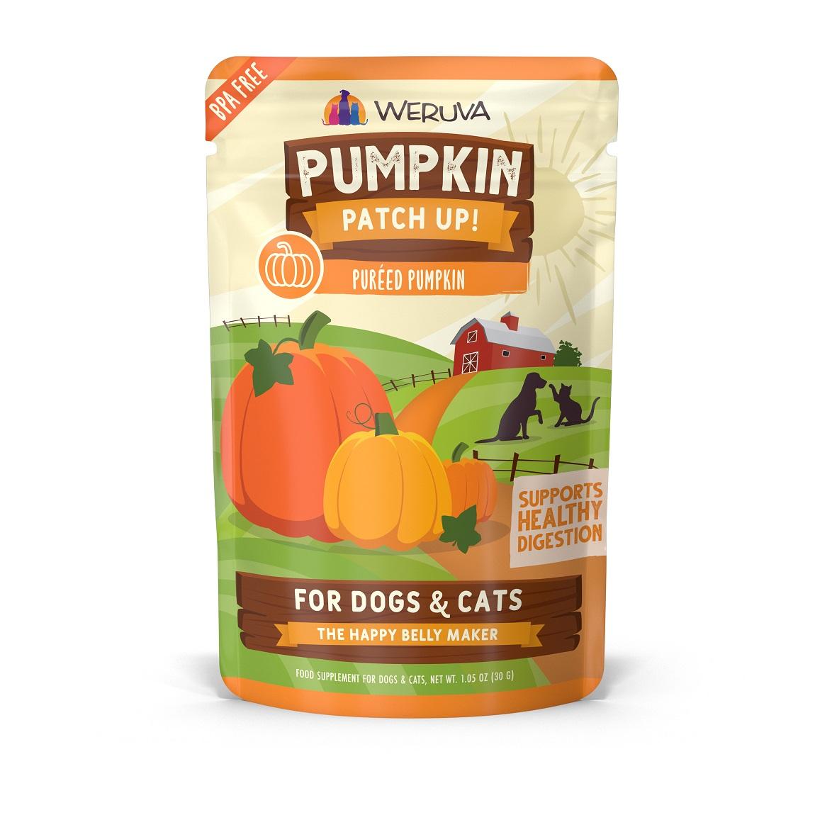 Weruva Pumpkin Patch Up! Dog & Cat Food Supplement, 1.05-oz