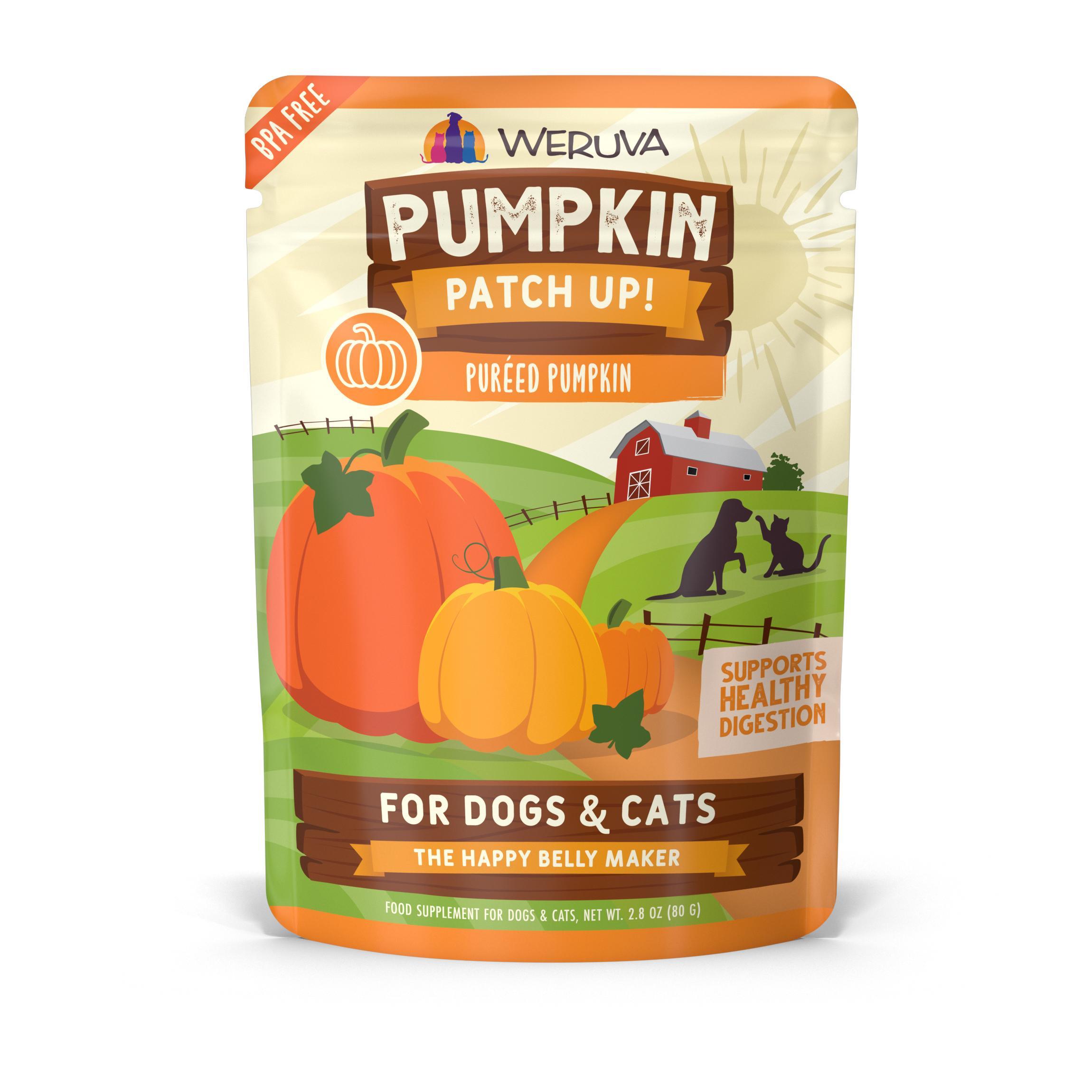 Weruva Pumpkin Patch Up! Dog & Cat Food Supplement, 2.80-oz