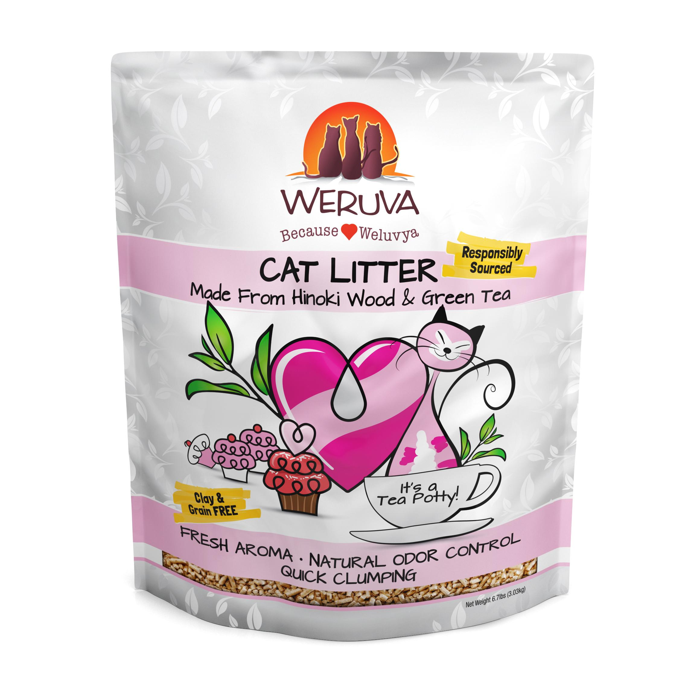 Weruva Natural Quick Clumping Cat Litter, 6.7-lb bag