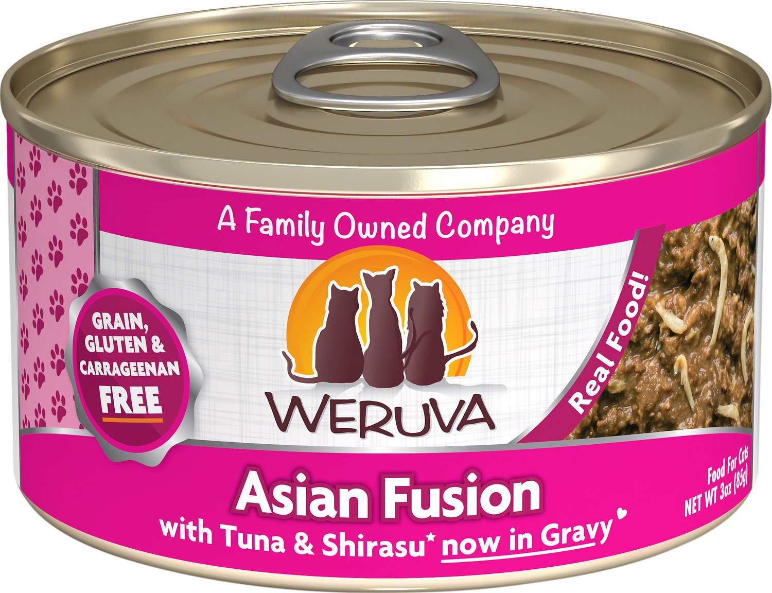 Weruva Cat Classic Asian Fusion with Tuna & Shirasu Grain-Free Wet Cat Food Image