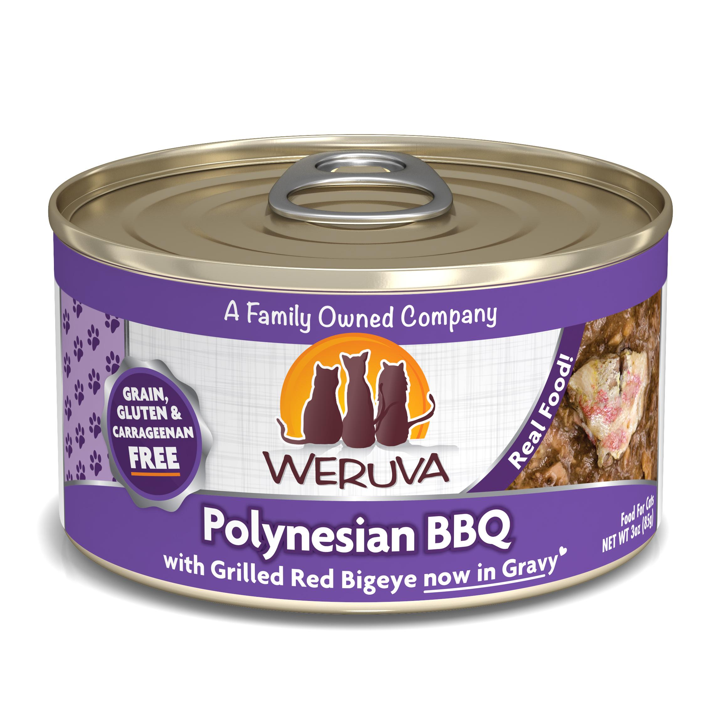 Weruva Cat Classic Polynesian BBQ with Grilled Red Bigeye Grain-Free Wet Cat Food Image