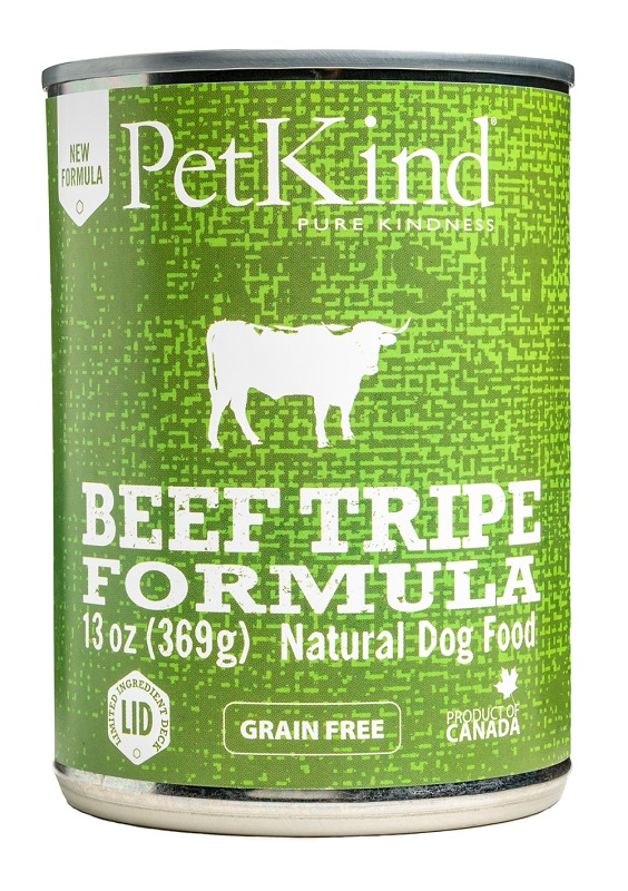 PetKind That's It Beef Tripe Grain-Free Canned Dog Food, 13-oz 369-g