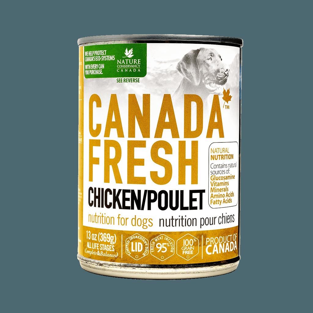 PetKind Canada Fresh Chicken Formula Wet Dog Food, 13-oz|369-g