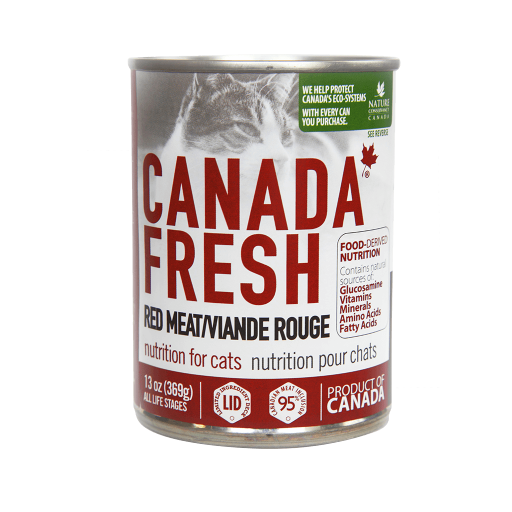 PetKind Canada Fresh Red Meat Formula Wet Cat Food, 13-oz 369-g