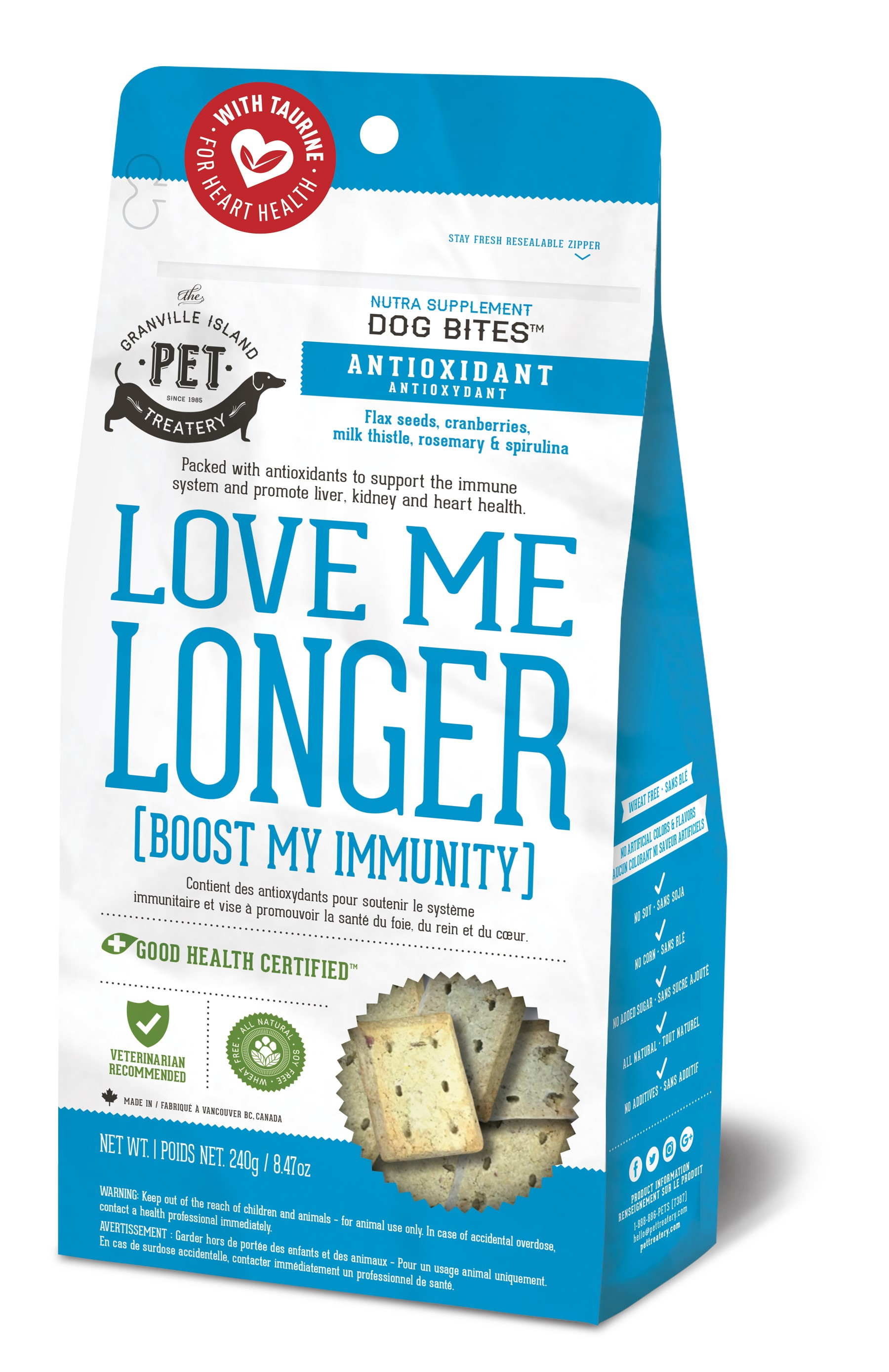 Granville Island Pet Treatery Antioxidant Love Me Longer (Boost my Immunity) Image