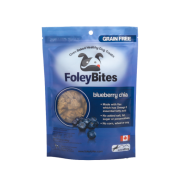 FoleyBites Blueberry Chia Grain-Free Dog Treats, 400-gm