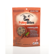 FoleyBites Cranberry Chia Grain-Free Dog Treats, 400-gm