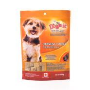 Foley Dog'n It Exotic Harvest Turkey Dog Treats, 454-gm