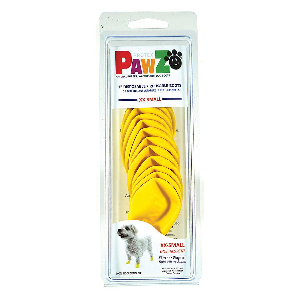 Pawz Waterproof Dog Boots, Yellow, XX-Small Image