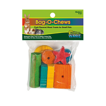 Ware Bag O Chews, Pine Chew Toys for Small Pets Image