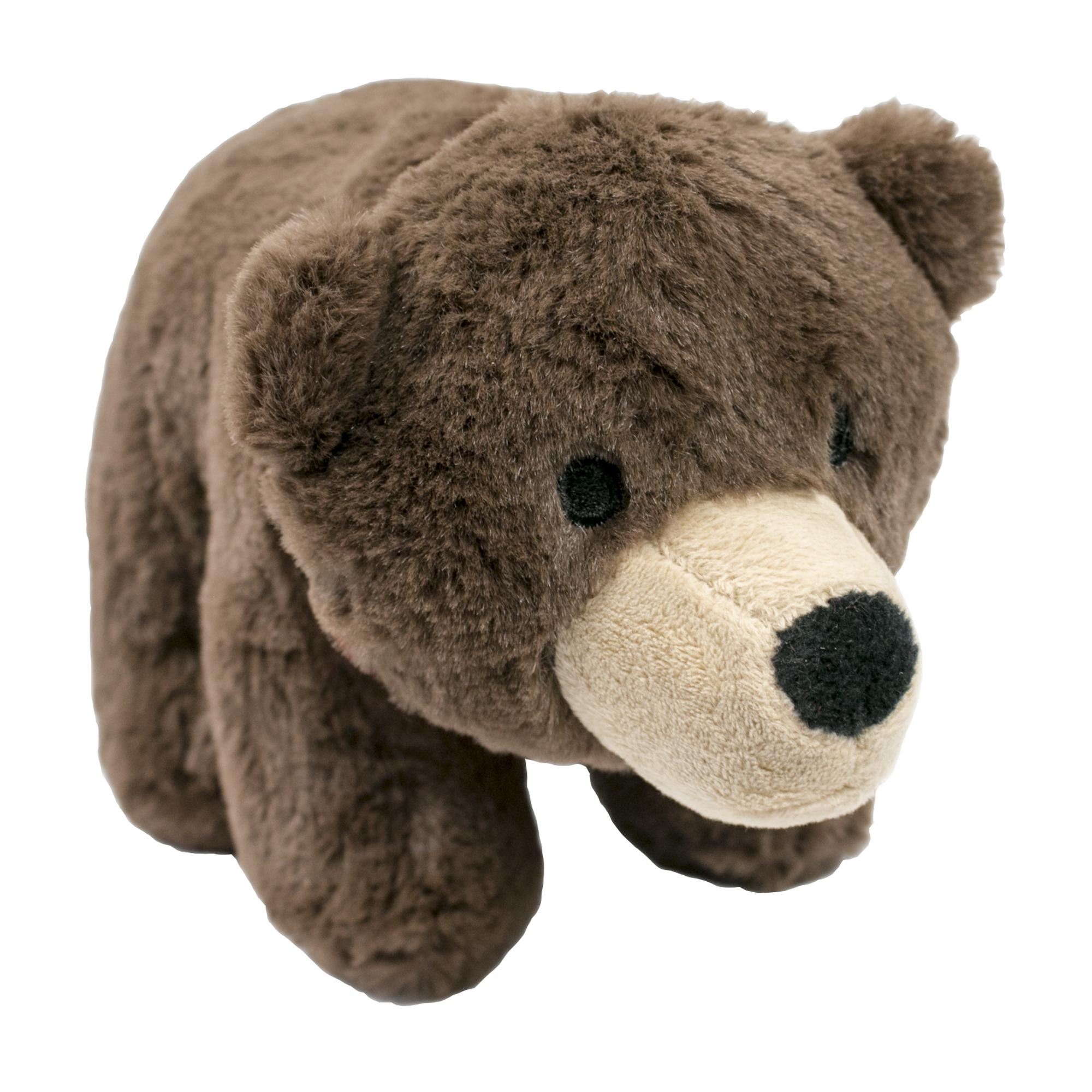 Tall Tails Bear with Squeaker Dog Toy, 9-in
