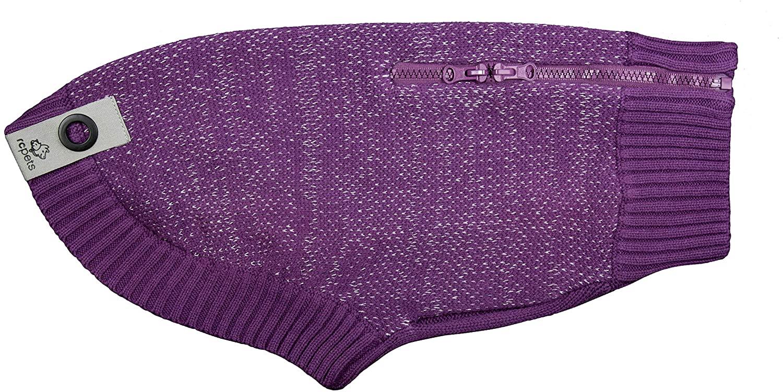 RC Pet Products Polaris Sweater, Plum Purple, Large