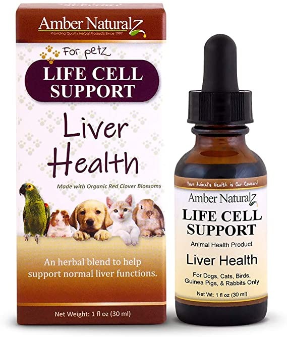 Amber Naturalz Life Cell Support Pet Supplement, 1-oz