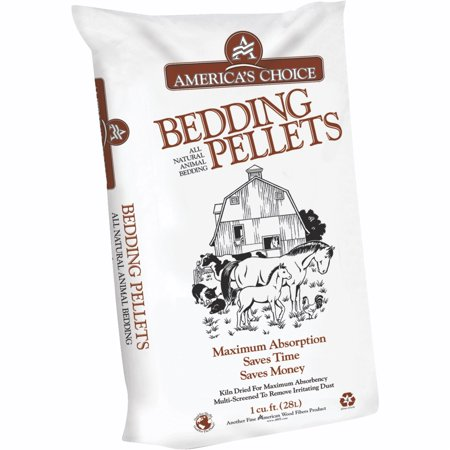 American Wood Fibers America's Choice Pine Animal Bedding Pellets, 40-lb