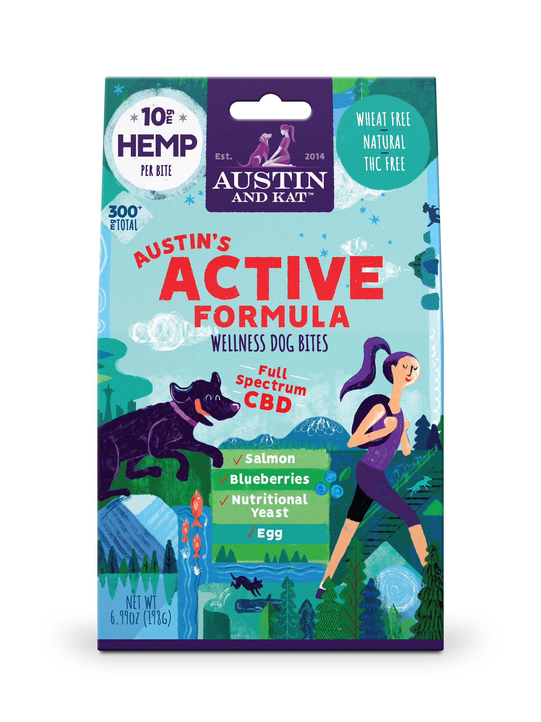 Austin and Kat Austin's Active Formula Bites, 10-mg, 30-count