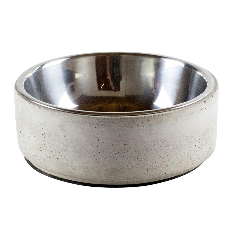 BeOneBreed Concrete Pet Bowl, Small