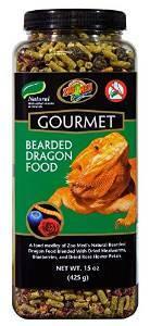Zoo Med Gourmet Bearded Dragon Food, 15-oz jar