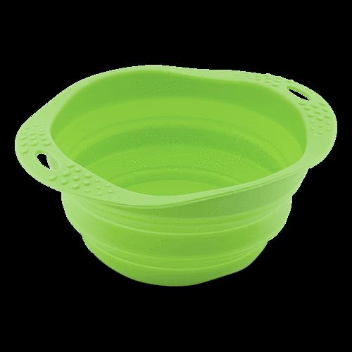 Beco Travel Pet Bowl, Green, Large