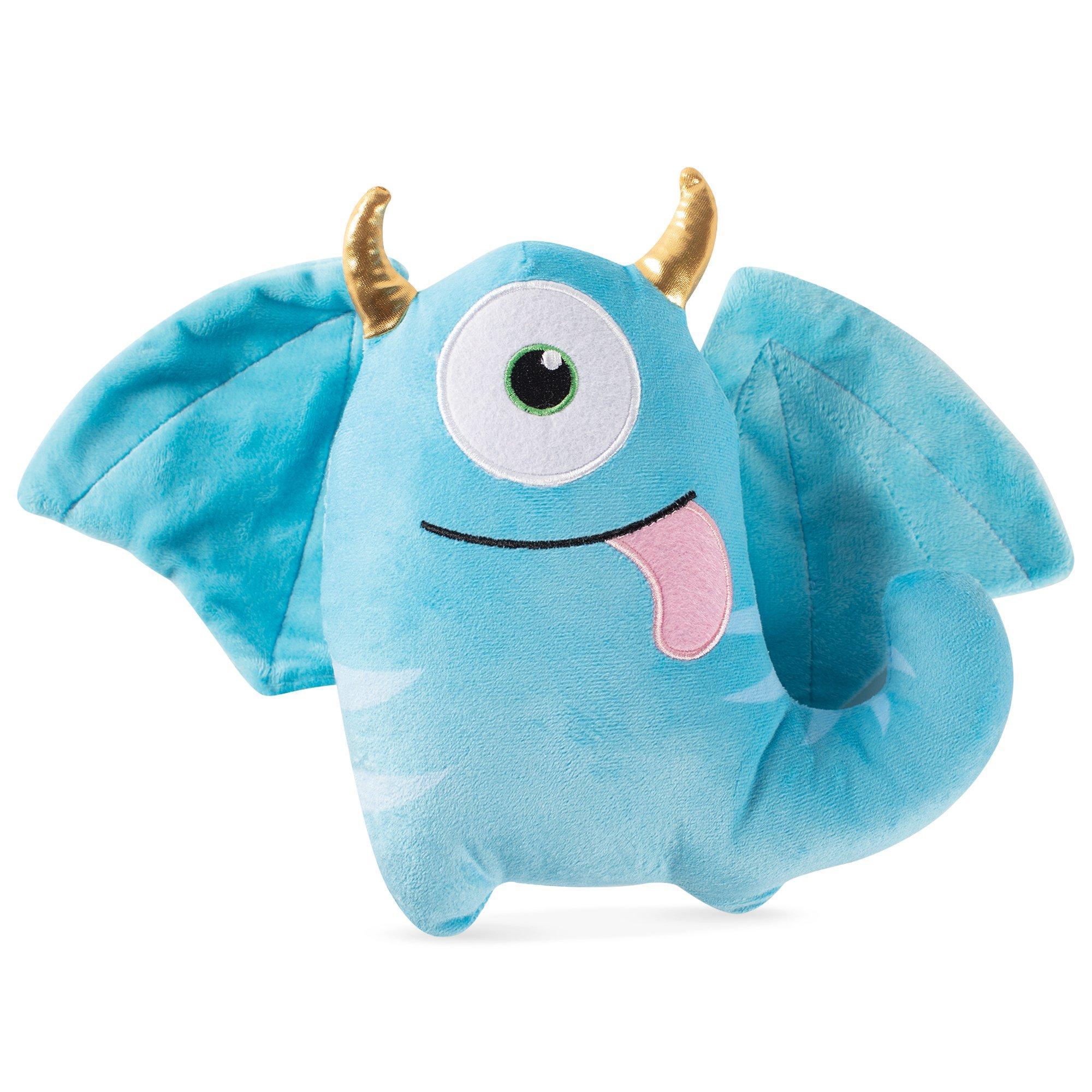Pet Shop by Fringe Studio Blaze, the One Eyed Monster Plush Squeaker Dog Toy