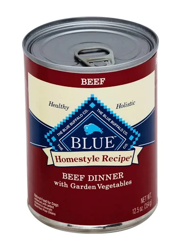 Blue Buffalo Homestyle Recipe Beef Dinner with Garden Vegetables Grain-Free Canned Dog Food Image