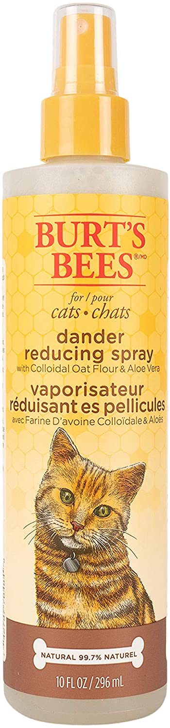 Burt's Bees Dander Reducing Cat Spray, 10-oz bottle (Weights: 10 ounces) Image