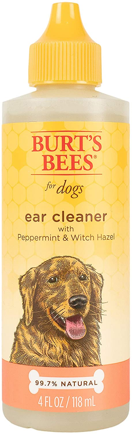 Burt's Bees Dog Ear Cleaner Solution, 4-oz bottle